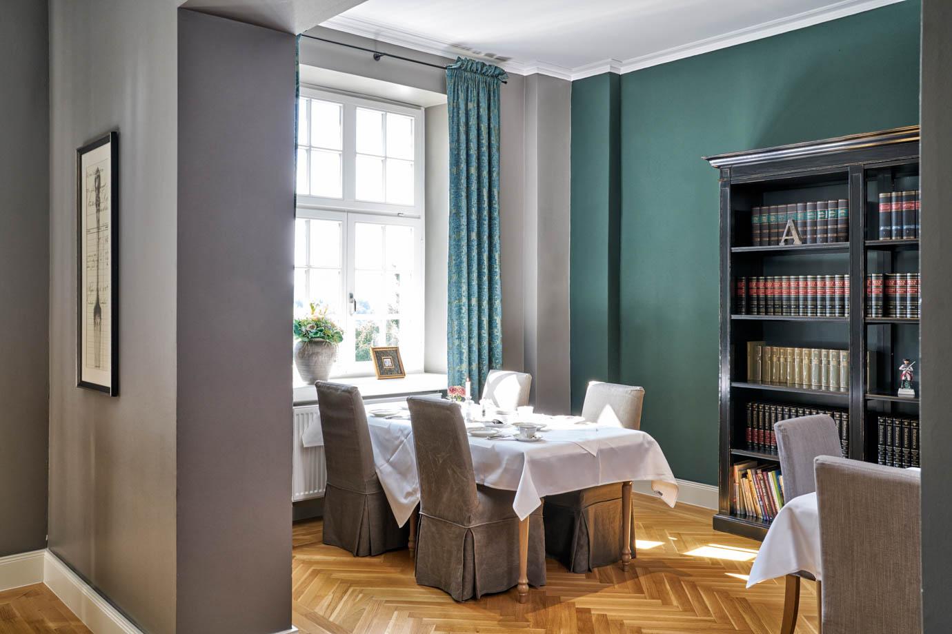 Das WohnGut verfügt über verschiedene stilvolle Räumlichkeiten für Ihre Feier