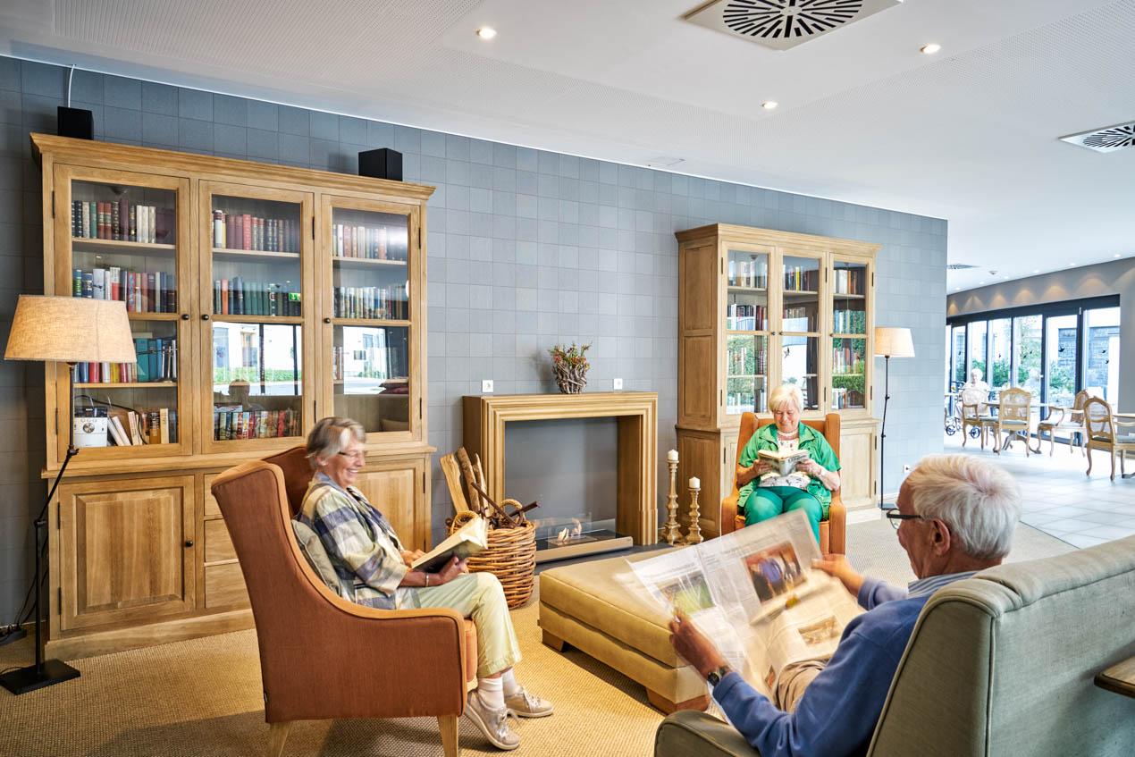 Stilvolles Ambiente in der WohnGut-Lobby