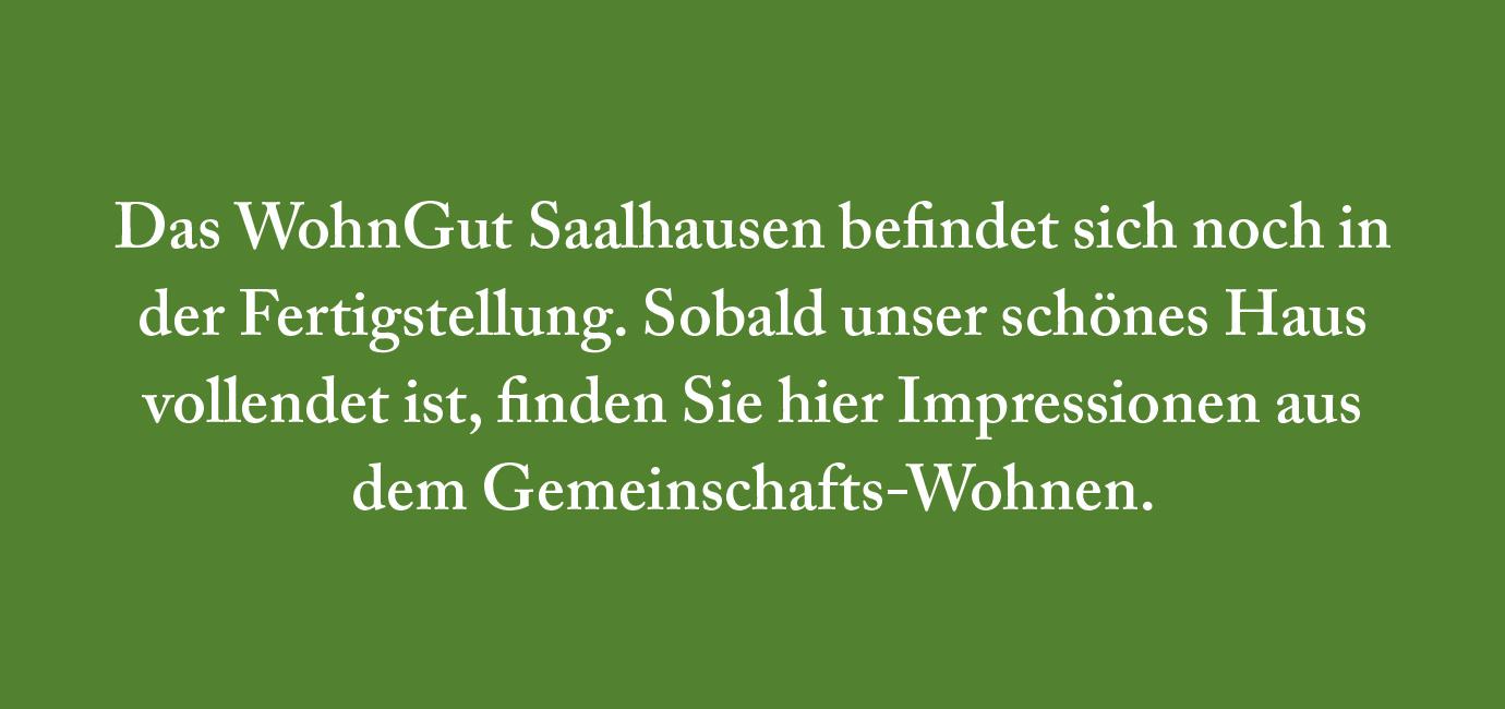 Saalhausen | Gemeinschafts-Wohnen | Platzhalter Bildergalerie