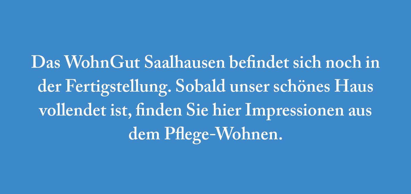 Saalhausen | Pflege-Wohnen | Platzhalter Bildergalerie