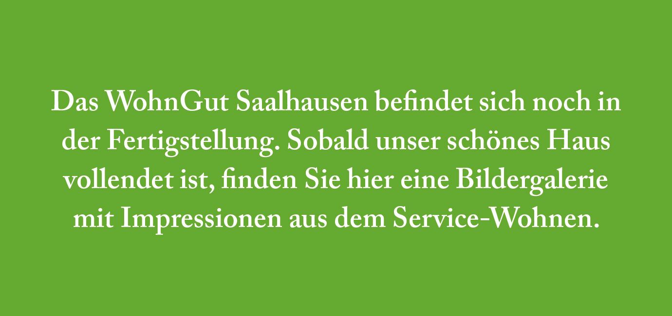 Saalhausen | Service-Wohnen | Platzhalter Bildergalerie
