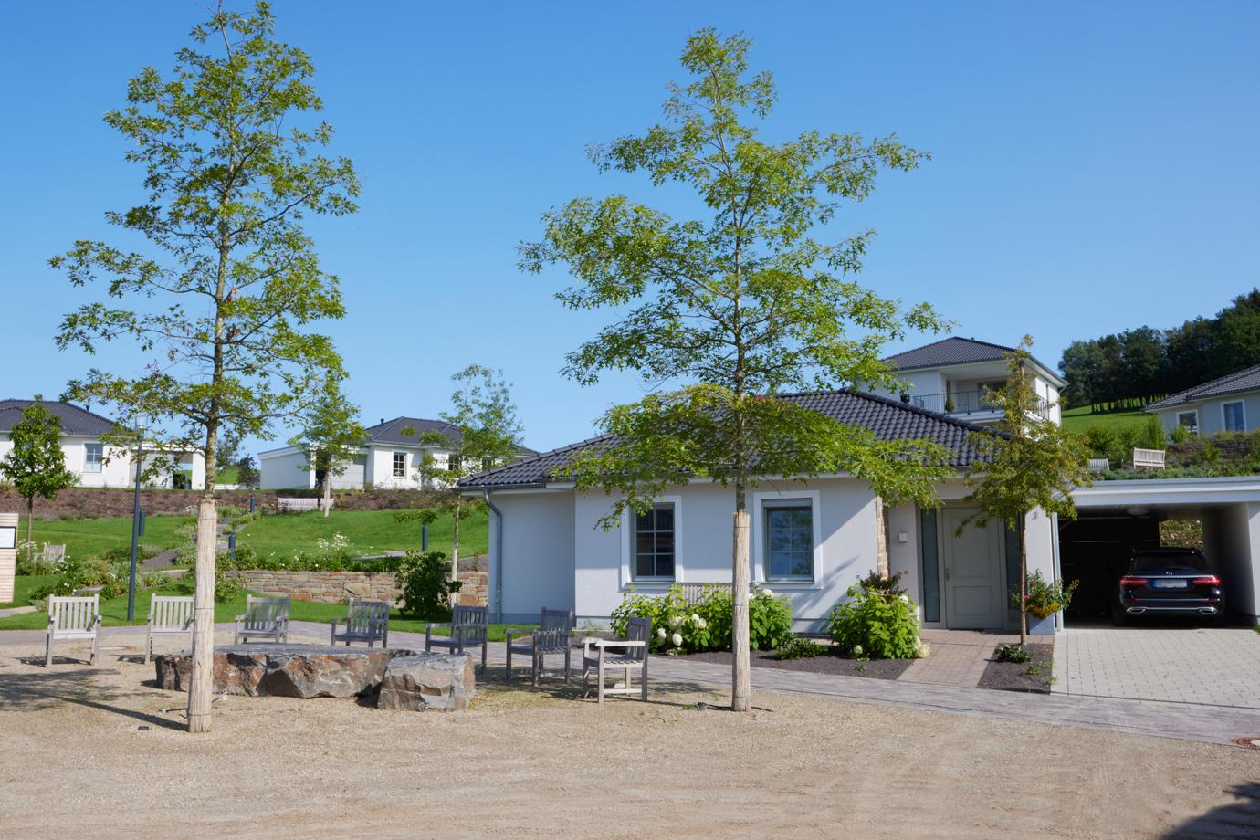 Landhaus-Wohnen im WohnGut Osterseifen   Dorfplatz